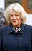 Camilla Duchess of Cornwall Visits St Johns Angell Town Church and Primary School