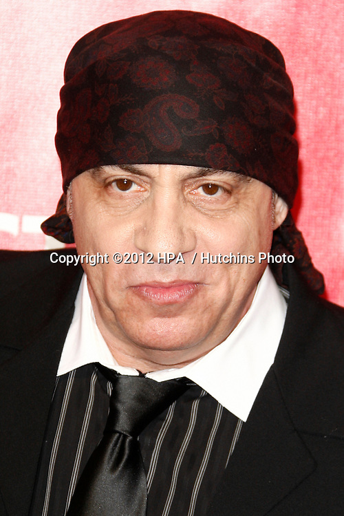 LOS ANGELES - FEB 10:  Steven Van Zandt arrives at the 2012 MusiCares Gala honoring Paul McCartney at LA Convention Center on February 10, 2012 in Los Angeles, CA