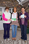 Some of the organisers behind the Ballinskelligs Fire Benefit Dance in Aid of Noreen Doyle l-r; Mary Walsh(Community Care Coordinator), Laura King(CSP Worker) & Janet Murphy(An Bainsteoir Ballinskelligs Community Centre).....Ref Sinead - Story