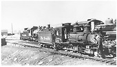 3/4 engineer's-side view of D&amp;RGW #278 in Gunnison yard.  #489 is visible in the background.<br /> D&amp;RGW  Gunnison, CO