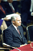 Washington, DC - November 9, 2006 -- File photo of Dr. Robert Gates, Secretary of Defense-designate taken on September 16, 1991 during his confirmation hearings to be Director of the Central Intelligence Agency (CIA) before the United States Senate Intelligence Committee.  Dr. Gates was nominated on Wednesday, November 8, 2006 as Defense Secretary to replace Donald Rumsfeld by United States President George W. Bush..Credit: Arnie Sachs / CNP