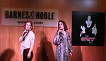 Teal Wicks and Stephanie J. Block during 'The Cher Show' Original Broadway Cast Recording performance and CD signing at Barnes & Noble Upper East Side on May 14, 2019 in New York City.