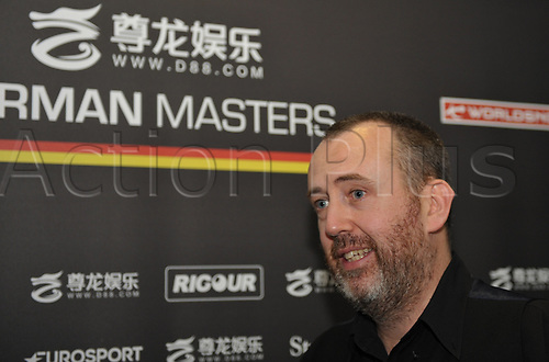 February 4th 2018, Tempedrom, Berlin, Germany; German Masters Snooker final; Mark Williams versus Graeme Dott; Welshman Mark Williams won the match 9 to 1 and  is the first player to win the german masters twice