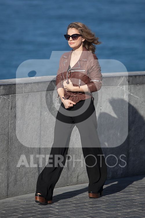 Dolores Fonzi poses during the `Truman´ film presentation a 63rd Donostia Zinemaldia (San Sebastian International Film Festival) in San Sebastian, Spain. September 19, 2015. (ALTERPHOTOS/Victor Blanco)