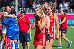 ANTWERPEN - Teleurstelling bij Hannah Martin (Eng) . Spanje wint de troostfinale om de derde plaats na shoot outs  , dames  Spanje-Engeland (1-1) bij het Europees kampioenschap hockey.  ANP KOEN SUYK