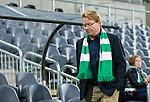 Stockholm 2014-08-24 Fotboll Superettan Hammarby IF - Ljungskile SK :  <br /> Hammarbys sportchef Mats Jingblad ser nedst&auml;md ut efter matchen<br /> (Foto: Kenta J&ouml;nsson) Nyckelord:  Superettan Tele2 Arena Hammarby HIF Bajen Ljungskile LSK portr&auml;tt portrait depp besviken besvikelse sorg ledsen deppig nedst&auml;md uppgiven sad disappointment disappointed dejected