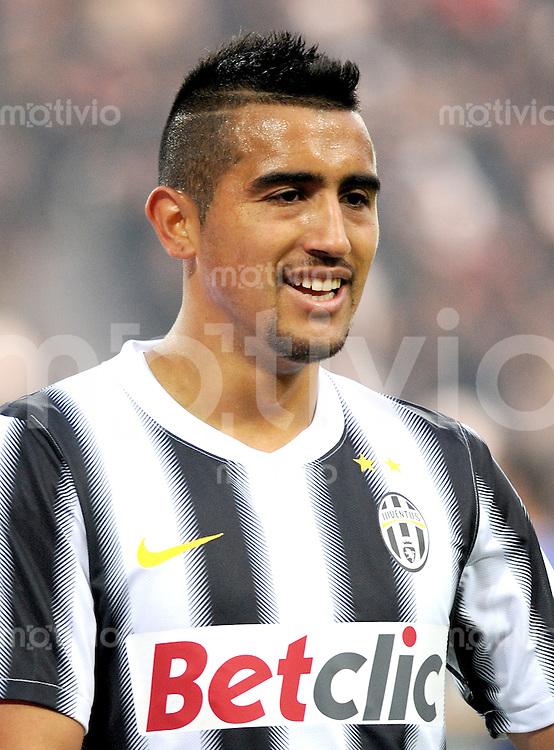FUSSBALL INTERNATIONAL   SERIE A   SAISON 2011/2012    Juventus Turin - AC Cesena 04.12.2011 Arturo Erasmo Pardo Vidal (Juventus Turin)