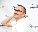 Michael Borowski attends the photo call for Playwrights Horizons world premiere production of 'Log Cabin' on May 8, 2018 at Playwrights Horizons rehearsal hall in New York City.