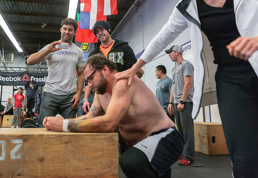 The September Crossfit Garage Games in Providence, RI brought CF members from throughout New England and New York. All levels compete in a weekend of varying WOD's, and all participants give their very best.