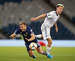 06.09.2019 Scotland v Russia, European Championship 2020 qualifying round, Hampden Park:<br /> Ryan Fraser and Aleksandr Golovin