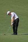 Dubai World Championship Golf. Earth Course,.Jumeirah Golf Estate, Dubai, U.A.E...SOren Hanson playing his second from the fairway on the 5th during the first round of the Dubai World Golf championship..Photo: Fran Caffrey/www.golffile.ie...