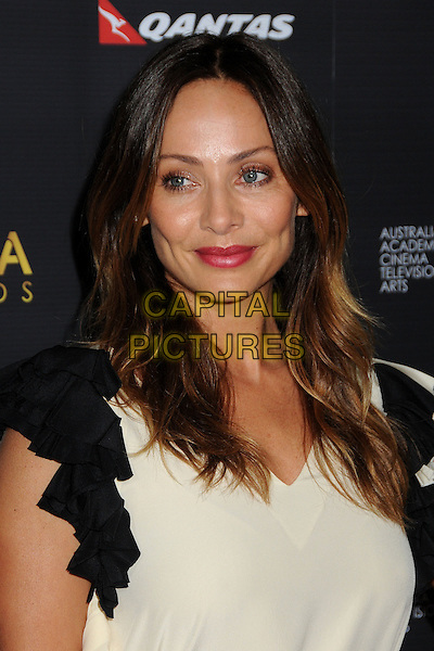 Natalie Imbruglia.Australian Academy of Cinema and Television Arts 2nd Annual AACTA International Awards held at Soho House, West Hollywood, California, USA, 26th January 2013th..portrait headshot white cream red lipstick make-up .CAP/ADM/BP.©Byron Purvis/AdMedia/Capital Pictures.
