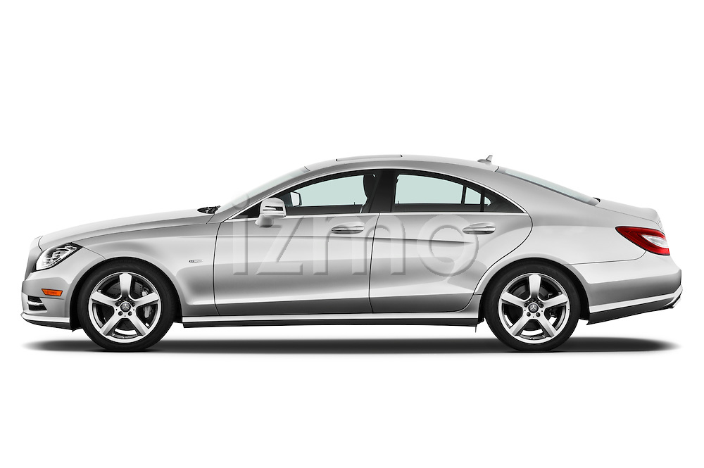 Driver side profile view of a 2012 Mercedes CLS Class .