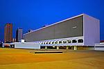 Edificio da Biblioteca Nacional de Brasilia. Distrito Federal. 2010. Foto de Idemar Jose.