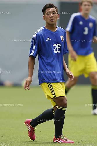 Yosuke Ideguchi,<br /> JULY 1, 2014 - Football / Soccer : <br /> Training match between U-19 Japan 1-2 Omiya Ardija<br /> at NACK5 Stadium Omiya, Saitama, Japan. <br /> (Photo by SHINGO ITO/AFLO SPORT)