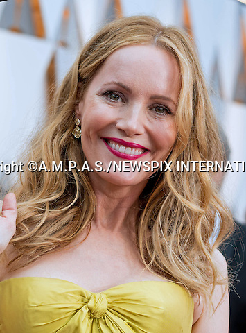 26.02.2017; Hollywood, USA: LESLIE MANN<br /> attends The 89th Annual Academy Awards at the Dolby&reg; Theatre in Hollywood.<br /> Mandatory Photo Credit: &copy;AMPAS/NEWSPIX INTERNATIONAL<br /> <br /> IMMEDIATE CONFIRMATION OF USAGE REQUIRED:<br /> Newspix International, 31 Chinnery Hill, Bishop's Stortford, ENGLAND CM23 3PS<br /> Tel:+441279 324672  ; Fax: +441279656877<br /> Mobile:  07775681153<br /> e-mail: info@newspixinternational.co.uk<br /> Usage Implies Acceptance of Our Terms &amp; Conditions<br /> Please refer to usage terms. All Fees Payable To Newspix International