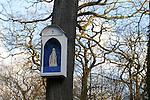 20050123 - France - Saint-Germain-en-Laye<br /> ORATOIRE DE NOTRE-DAME DE BON SECOURS DANS LA FORÊT DE SAINT GERMAIN<br /> Ref:SAINT-GERMAIN-EN-LAYE_080 - © Philippe Noisette