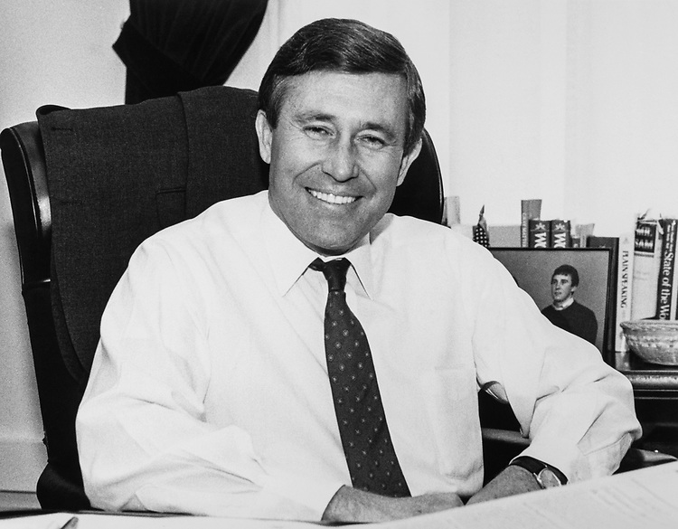 Portrait of Rep. Robin Tallon, D-S.C., in 1985 (Photo by CQ Roll Call)