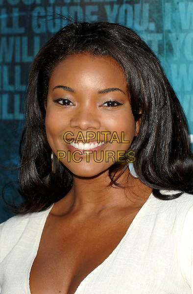 "GABRIELLE UNION.World premiere of the film ""Crash"".Held at the Samuel Goldwyn Theatre in Beverly Hills, California, USA, 26th April 2005. .portrait headshot .Ref: MOO.www.capitalpictures.com.sales@capitalpictures.com.©Capital Pictures"