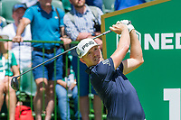 Matt Wallace (ENG) on the 1st tee during the first round at the Nedbank Golf Challenge hosted by Gary Player,  Gary Player country Club, Sun City, Rustenburg, South Africa. 14/11/2019 <br /> Picture: Golffile | Tyrone Winfield<br /> <br /> <br /> All photo usage must carry mandatory copyright credit (© Golffile | Tyrone Winfield)