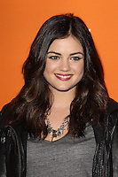 HOLLYWOOD, CA - OCTOBER 16: Lucy Hale at the 'Pretty Little Liars' Halloween episode premiere at Hollywood Forever Cemetary on October 16, 2012 in Hollywood, California. Credit: mpi20/MediaPunch Inc /NortePhoto