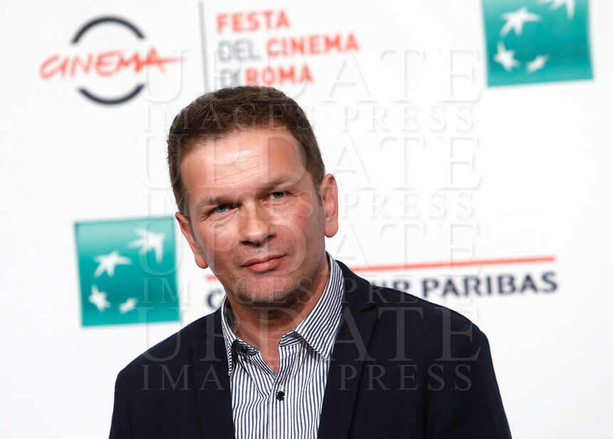 """French director Gael Morel poses during a photo call to present the movie """"Prendre le large"""" (""""Catch the wind"""") during the international Rome Film Festival at Rome's Auditorium, 29 October 2017.<br /> UPDATE IMAGES PRESS/Riccardo De Luca"""