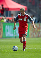 17 September 2011: Toronto FC forward Nick Soolsma #18 in action during an MLS game between the Colorado Rapids and the Toronto FC at BMO Field in Toronto, Ontario Canada..Toronto FC won 2-1.