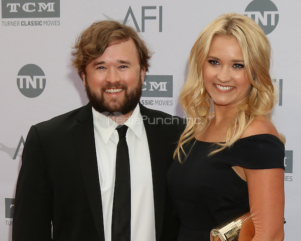 LOS ANGELES, CA - JUNE 9: Haley Joel Osment, Emily Osment at the American Film Institute 44th Life Achievement Award Gala Tribute to John Williams at the Dolby Theater on June 9, 2016 in Los Angeles, California. Credit: David Edwards/MediaPunch