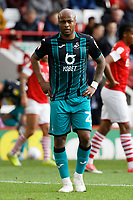 Andre Ayew of Swansea City in action during the Sky Bet Championship match between Barnsley and Swansea City at Oakwell Stadium, Barnsley, England, UK. Saturday 19 October 2019