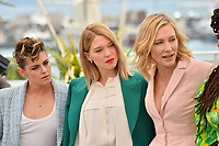 Kristen Stewart, Lea Seydoux &amp; Cate Blanchett at the photocall for the Cannes Jury at the 71st Festival de Cannes, Cannes, France 08 May 2018<br /> Picture: Paul Smith/Featureflash/SilverHub 0208 004 5359 sales@silverhubmedia.com