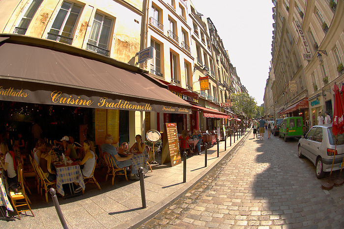 Paris France - Bistro St Germain - Restaurants