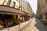 Paris France - Bistro St Germain - Restaurants
