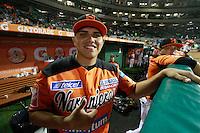 Juan Pablo Oramas,pitcher de naranjeros , durante el juego de beisbol de Naranjeros vs Cañeros durante la primera serie de la Liga Mexicana del Pacifico.<br /> 15 octubre 2013