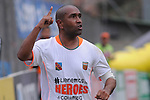 ENVIGADO – COLOMBIA _ 30-03-2014 / En compromiso correspondiente a la decimotercera fecha del Torneo Apertura Colombiano 2014, Envigado FC venció 1 – 0 a Itagüí FC en el Polideportivo Sur de Envigado. /