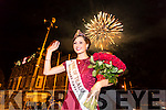 The 2016 International Rose of Tralee is Chicago Rose Maggie McEldowney in Denny Street on Tuesday evening.