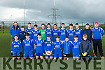 Killarney Athletic at the U14 Tralee Dynamos v Killarney Athletic match in I.T. Tralee astroturf pitch on Saturday
