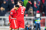 13.03.2019, Allianz Arena, Muenchen, GER, UEFA CL, FC Bayern Muenchen (GER) vs FC Liverpool (GBR) ,Achtelfinale, UEFA regulations prohibit any use of photographs as image sequences and/or quasi-video, im Bild Serge Gnabry (FCB #22) enttaeuscht<br /> <br /> Foto © nordphoto / Straubmeier