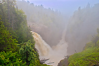 The Aguasabon River flows over Aguasabon Falls &amp; Gorge on its way to Lake Superior<br />