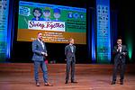 BUSSUM -  Frank Kirsten, Lodewijk Klootwijk en Jeroen Sevens   Nationaal Golf Congres & Beurs. COPYRIGHT KOEN SUYK