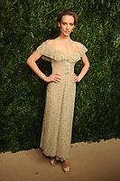 NEW YORK, NY - NOVEMBER 6: Hannah Ferguson at the 14th Annual CFDA Vogue Fashion Fund Gala at Weylin in Brooklyn, New York City on November 6, 2017. Credit: John Palmer/MediaPunch