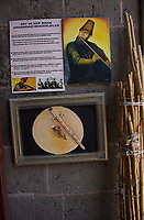 The ney, or reed flute, on display at the Hunat Hatun Madrasah in Kayseri, Turkey