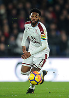 Burnley's Georges-Kevin Nkoudou<br /> <br /> Photographer Ashley Crowden/CameraSport<br /> <br /> The Premier League - Crystal Palace v Burnley - Saturday 13th January 2018 - Selhurst Park - London<br /> <br /> World Copyright &copy; 2018 CameraSport. All rights reserved. 43 Linden Ave. Countesthorpe. Leicester. England. LE8 5PG - Tel: +44 (0) 116 277 4147 - admin@camerasport.com - www.camerasport.com