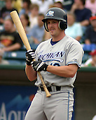 August 31, 2003:  Chris Maples of the West Michigan White Caps, Class-A affiliate of the Detroit Tigers, during a Midwest League game at Oldsmobile Park in Lansing, MI.  Photo by:  Mike Janes/Four Seam Images