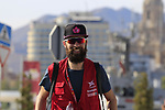 Photographer and blogger Beardy McBeard during Stage 1 of the La Vuelta 2018, an individual time trial of 8km running around Malaga city centre, Spain. 25th August 2018.<br /> Picture: Eoin Clarke | Cyclefile<br /> <br /> <br /> All photos usage must carry mandatory copyright credit (© Cyclefile | Eoin Clarke)