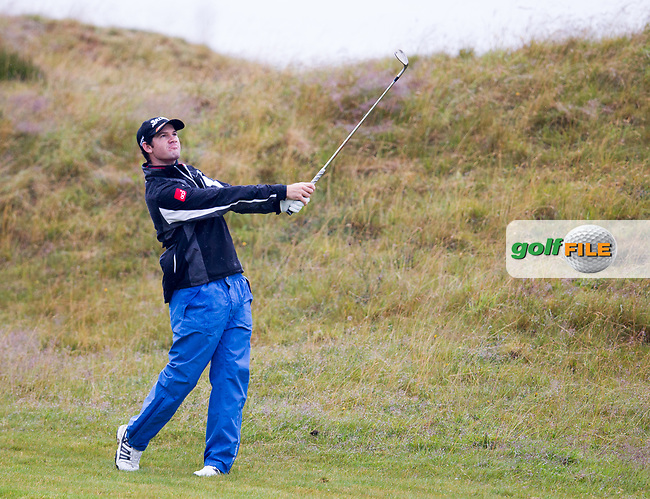 Ricardo Gouveia (POR) on the 9th during round 3 of the Aberdeen Asset Management Scottish Open 2017, Dundonald Links, Troon, Ayrshire, Scotland. 15/07/2017.<br /> Picture Fran Caffrey / Golffile.ie<br /> <br /> All photo usage must carry mandatory copyright credit (&copy; Golffile | Fran Caffrey)