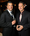 Todd Ivey and Wade Knight at the Catwalk for a Cure benefitting the Amschwand Sarcoma Cancer Foundation at the Hotel ZaZa Thursday Nov. 01,2012.(Dave Rossman photo)