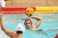 22 September 2007: Andrew Drake during Stanford's 20-11 win over University of the Pacific at the Avery Aquatic Center in Stanford, CA.