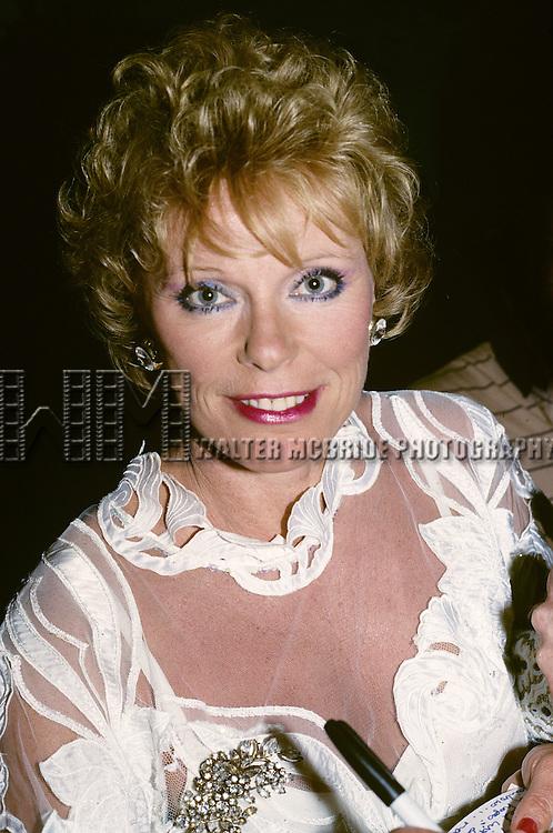 Elke Sommer pictured in New York City in 1986.
