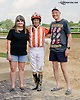 Kerwin Clark and fans at Delaware Park on 7/26/14