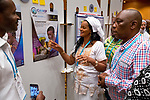 26 June, 2018, Kuala Lumpur, Malaysia : Aei Satu Bouba of Cameroon in the poster wall on the second day at the Girls Not Brides Global Meeting 2018 at the Kuala Lumpur Convention Centre. Picture by Graham Crouch/Girls Not Brides